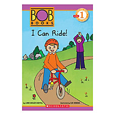 Scholastic Readers Bob Books I Can