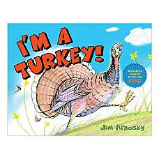 Scholastic Im A Turkey