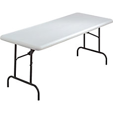 Lorell Ultra Lite Folding Table 29