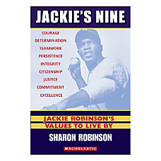 Scholastic Jackies Nine Jackie Robinsons Values