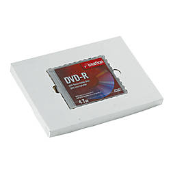 Office Depot Brand White Single CD