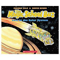 Scholastic The Magic School Bus Lost In The Solar System ...