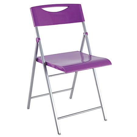 Alba CPSMILE Chair Purple Set Of 2 By Office Depot OfficeMax