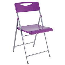 Alba CPSMILE Chair Purple Set Of