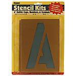 Stencil Kit CapsNumbers 6