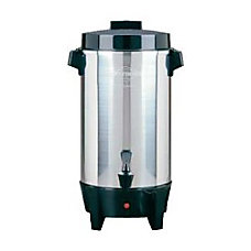 West Bend 58002 Coffee Urn Polished