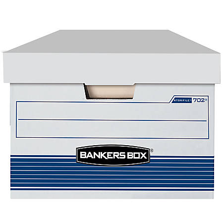 Bankers Box Storfile 65percent Recycled Storage Boxes Lift