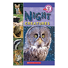 Scholastic Readers Level 2 Night Creatures