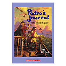 Scholastic Pedros Journal