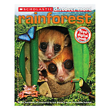 Scholastic Discover More Confident Reader Rainforest