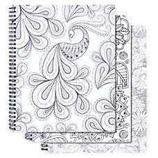 Office Depot Brand Adult Coloring Notebook