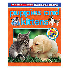 Scholastic Discover More Emergent Reader Puppies