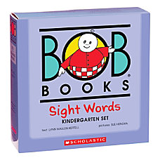 Scholastic Bob Books Sight Words Box