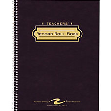 Roaring Spring Teachers Roll Book 8