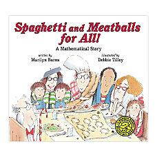 Scholastic Spaghetti And Meatballs For All