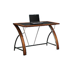 Whalen Furniture Montreal Laptop Desk Cherry By Office