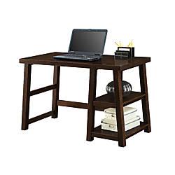Whalen Triton Desk Walnut