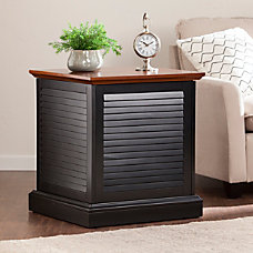 Southern Enterprises Abram Louvered Trunk End