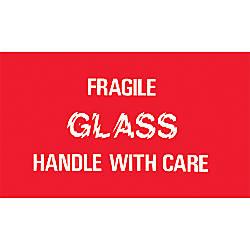 Tape Logic Preprinted Shipping Labels Fragile