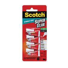 Scotch Super Glue Gel Single Use