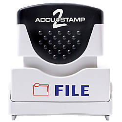 ACCU STAMP2 Shutter 2 Color Stamps