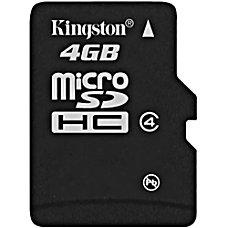 Kingston 4GB microSD High Capacity microSDHC