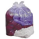 Genuine Joe Super Hexene Clear Trash