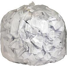 Genuine Joe Clear Flat Bottom Trash
