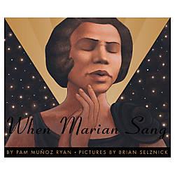 Scholastic When Marian Sang