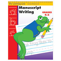 Evan Moor Learning Line Manuscript Writing