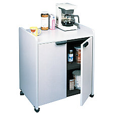 Tiffany Industries Laminate Mobile Utility Cabinet