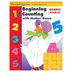 Evan Moor Learning Line Beginning Counting