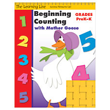 Evan Moor Learning Line Beginning Counting