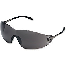 Crews Blackjack Protective Eyewear Chrome Frame