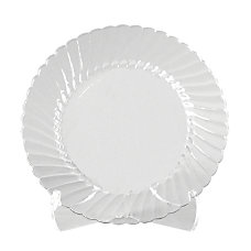 Classicware Clear Plastic Plates 6 Pack