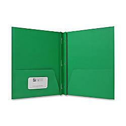 Sparco 2 Pocket Folders w Fasteners