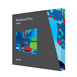 Windows® 8 Pro, Upgrade, Traditional Disc