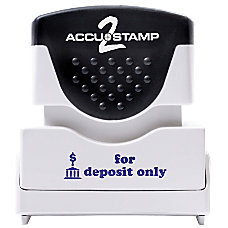 ACCU STAMP2 1 Color Stamps With