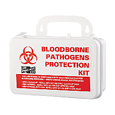 Pac Kit Small Industrial Bloodborne Pathogen