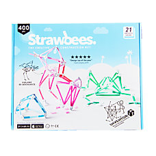 Strawbees 400 Piece Inventor Kit