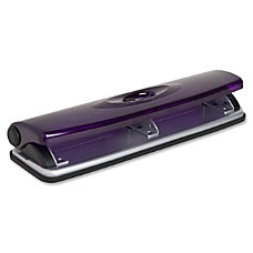 Sparco Transparent 3 Hole Punch Translucent