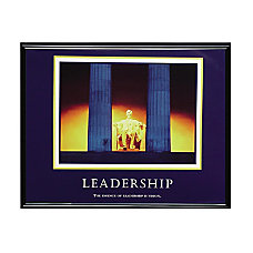 Advantus Leadership Framed Print 30 Width