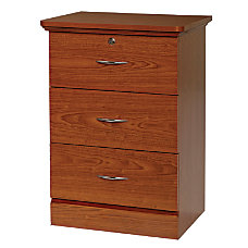 Fenway 3 Drawer Bedside Cabinet 33