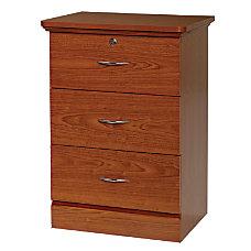 Fenway 3 Drawer Bedside Cabinet 33