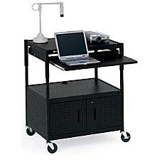 Bretford ECILS3 BK Cabinet Projector Cart
