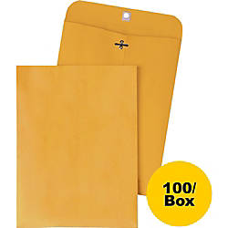 Quality Park Clasp Envelopes 25 4