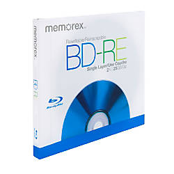 Memorex Blu ray Disc Rewritable Media