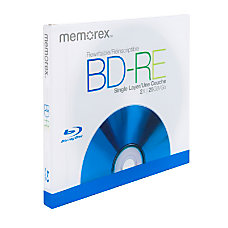 Memorex Blu ray Disc Rewritable Media