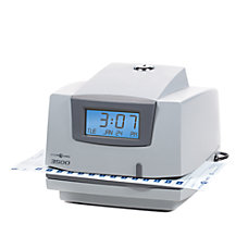 Pyramid 3500 Multipurpose Time Clock Document