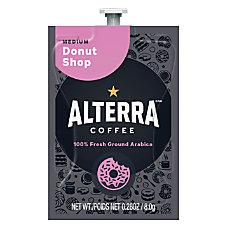 MARS DRINKS Flavia Coffee ALTERRA Donut